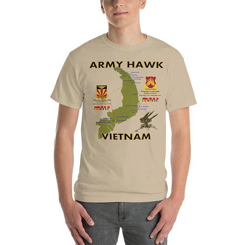 ARMY HAWK VIETNAM Tee Shirt Front
