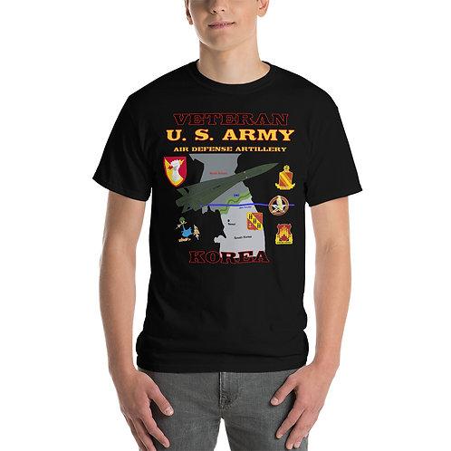 U.S. ARMY ADA HAWK KOREA VETERAN Tee Shirt Front