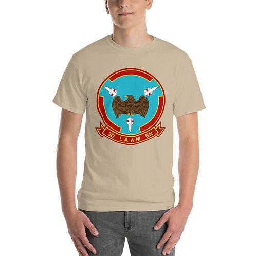 USMC 3rd LAAM Bn 1970s Design Tee Shirt Front