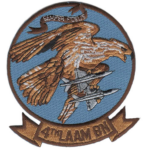 4th LAAM Bn Jacket Patch
