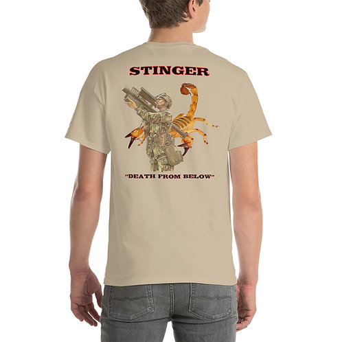 "Stinger Tee Shirt ""DEATH FROM BELOW"""