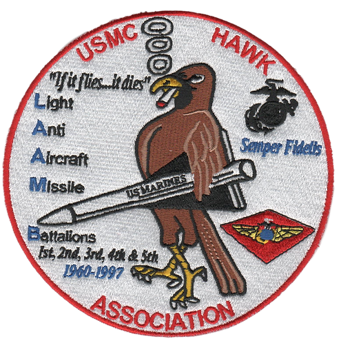 USMC HAWK Association Jacket Patch  (HPATCH)