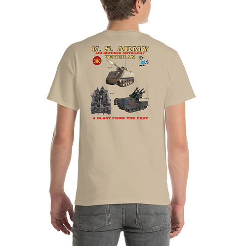 U. S. ARMY VULCAN DUSTER CHAPARRAL Tee Shirt Backside