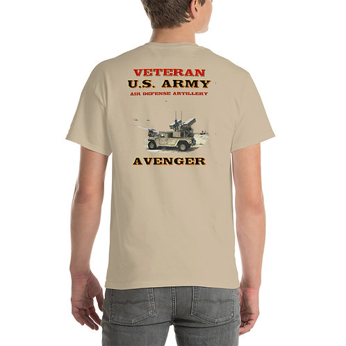 U. S. ARMY Avenger Tee Shirt Backside