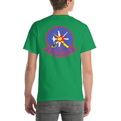 USMC 4th LAAD Bn Tee Shirt Backside