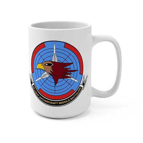 3rd LAAM Bn (1990 design) with MCAS Cherry Point graphic Coffee Mug