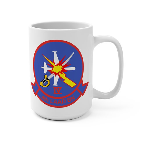 USMC 4th LAAD Bn Coffee Mug