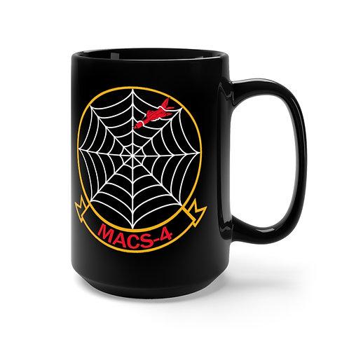 MACS-4/EGA Black Coffee Mug
