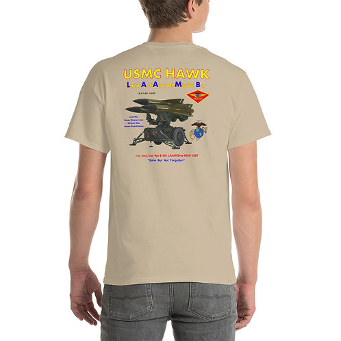 USMC HAWK LAUNCHER Tee Shirt Backside