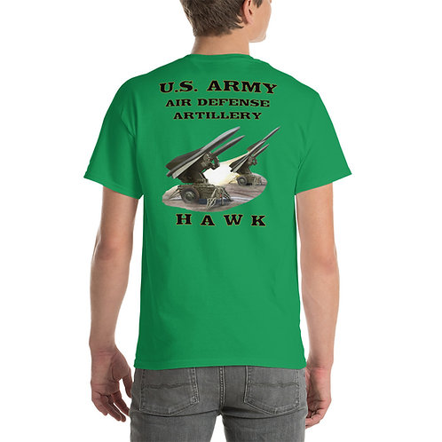 U.S. ARMY HAWK Tee Shirt Backside