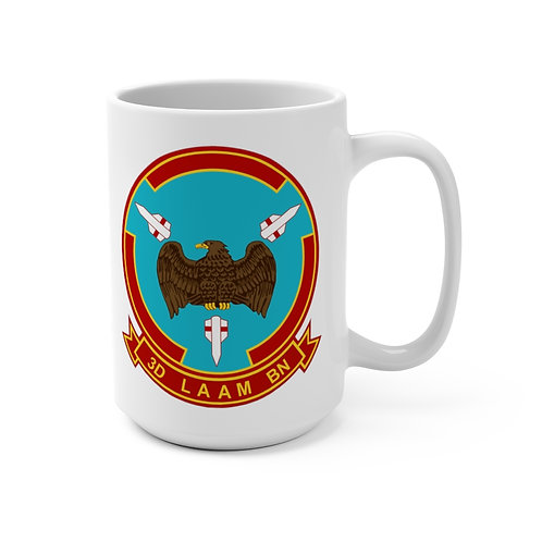3rd LAAM Bn (1970 design) with MCAS Cherry Point graphic Coffee Mug