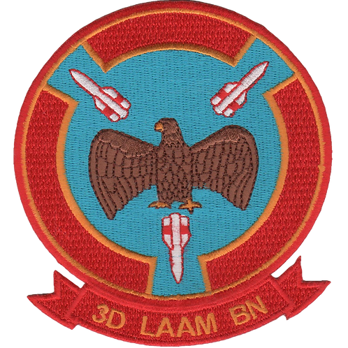3rd LAAM Bn 1970s Jacket Patch