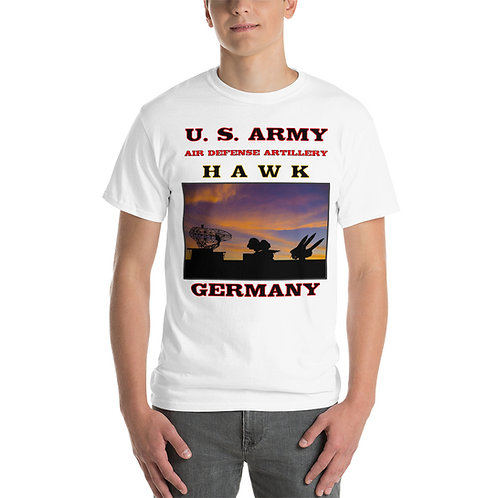 U.S. ARMY HAWK GERMANY Front & Back Tee Shirt