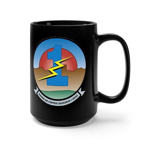 MACS-1 (REIN)/ MCAS Yuma Black Coffee Mug