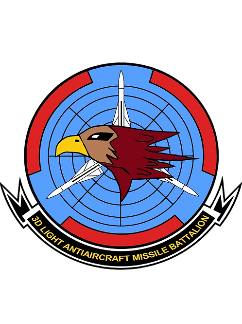 3rd LAAM Bn 1990s Jacket Patch