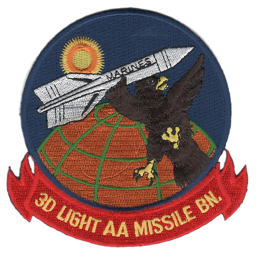 3rd LAAM Bn 1960 Jacket Patch