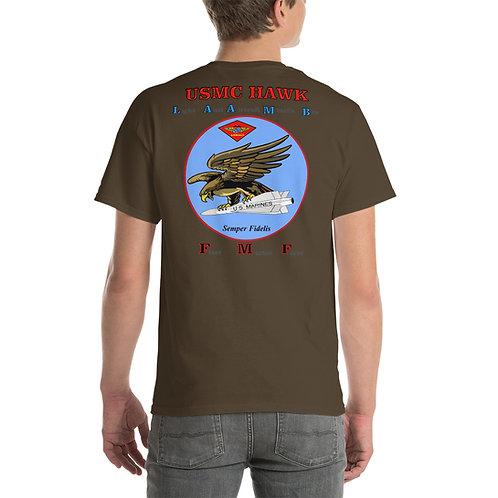 USMC HAWK FMF Tee Shirt Backside
