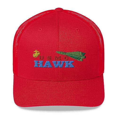 USMC HAWK MESH CAP