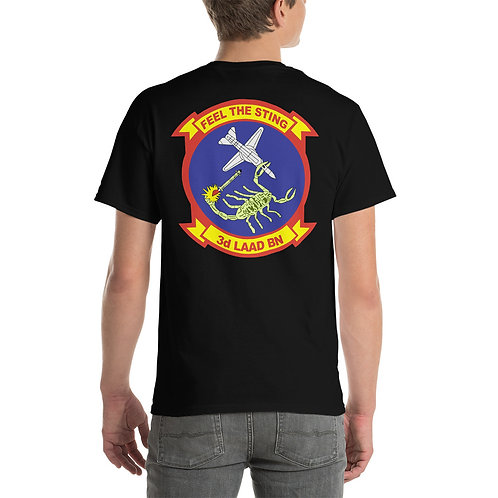 USMC 3rd LAAD Bn Tee SHirt Backside