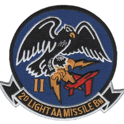 2nd LAAM Bn 1960 Jacket Patch