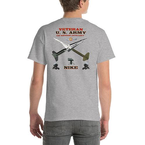 U. S. ARMY NIKE VETERAN Tee Shirt Backside