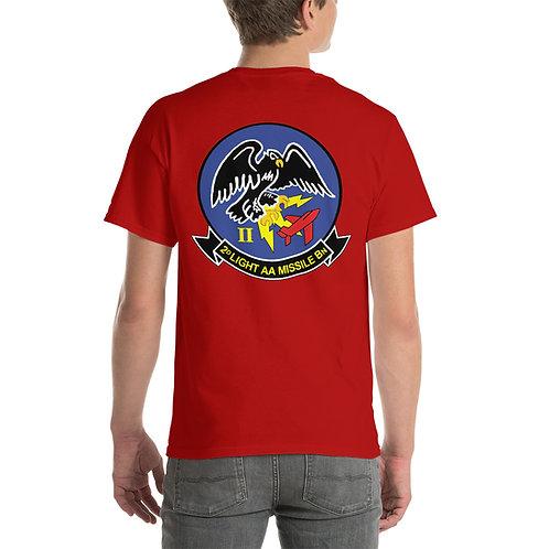 USMC 2nd LAAM Bn 1960s Design Tee Shirt Backside