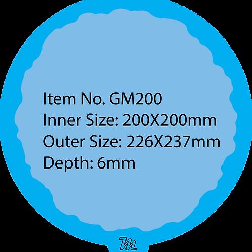 GM200 قالب سيليكون دائري قياس 20*20 سم