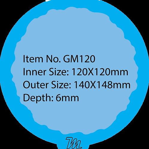 GM120 قالب سيليكون دائري قياس 12*12 سم