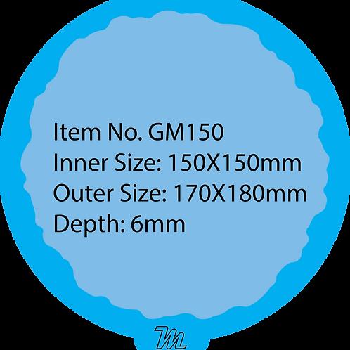 GM150 قالب سيليكون دائري قياس 15*15 سم