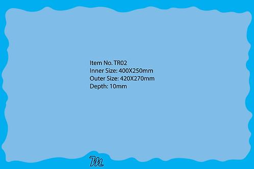 TR02 قالب صينية قياس 40*25 سم