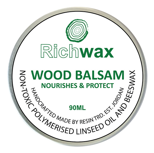 Richwax كريم شمع النحل والزيوت الطبيعية للخشب