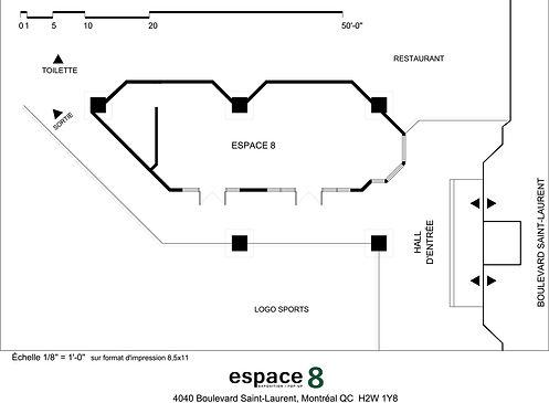 plan Espace 8