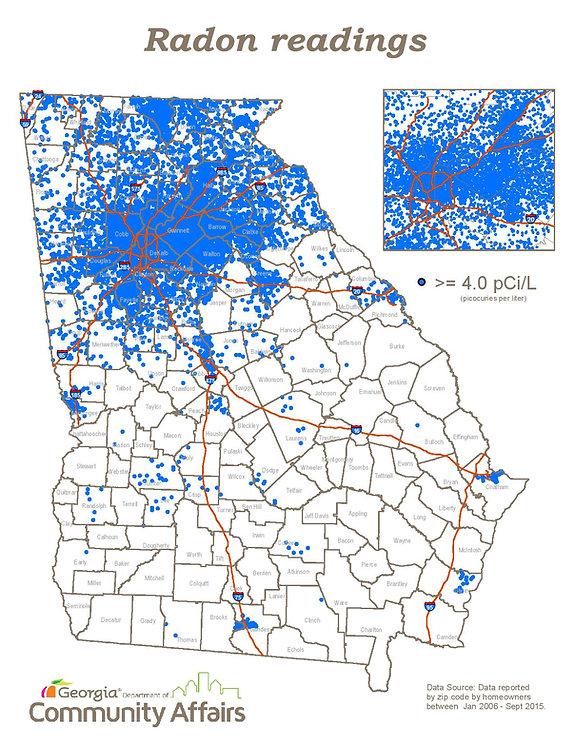 Georgia Hot Spots