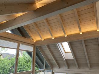 LED-Band Dachstuhl