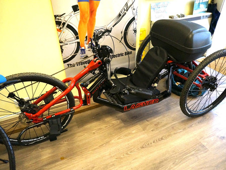 Supercharged trike!