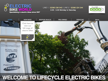 New Electric Bike World website launched today