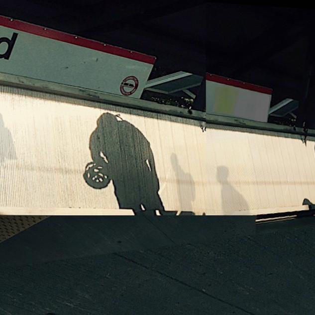 Shadows at Milford Station