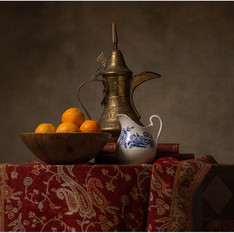 Dallah Porcelain and Oranges