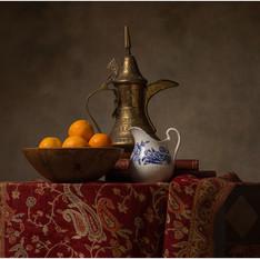Dallah Porcelain and Oranges