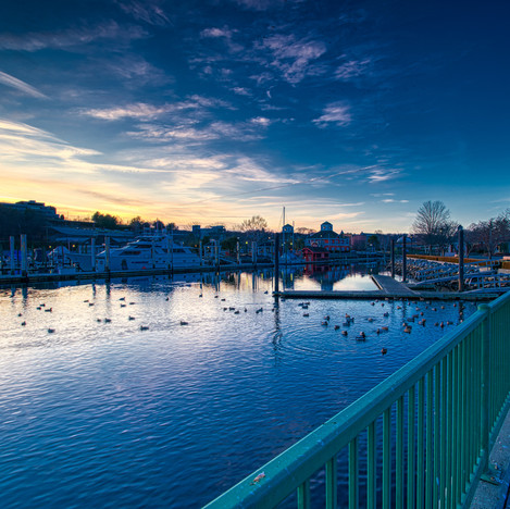 Twilight On The Thames River I