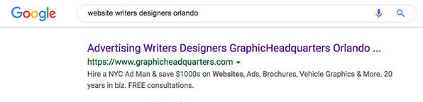 Web SEO Content Creators Orlando 01