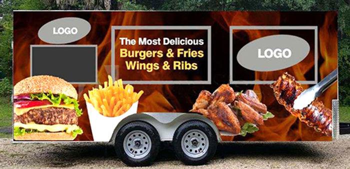 Food Truck Vinyl Graphics And Wraps