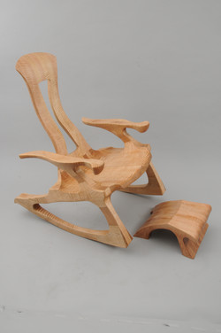 2016-07-26 Flame Maple Rocker with Ottoman - 0002