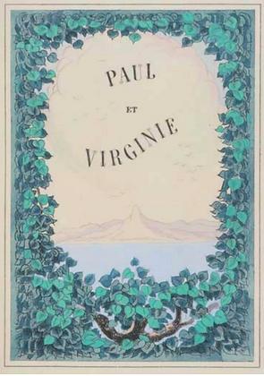 BERNARDIN DE SAINT-PIERRE. FALKÉ Pierre. Paul et Virginie
