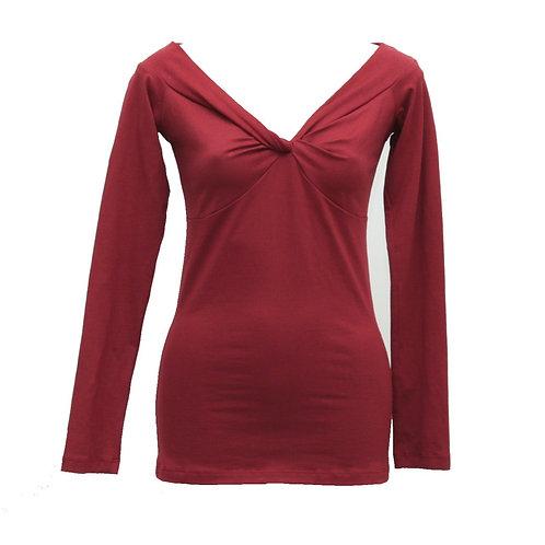 Jewel Top  Rust red