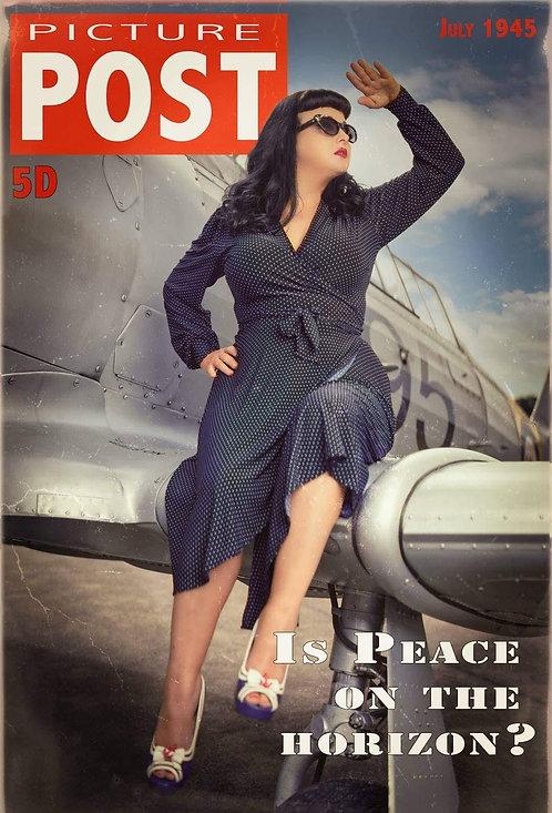 Vera Dress  0219 Navy