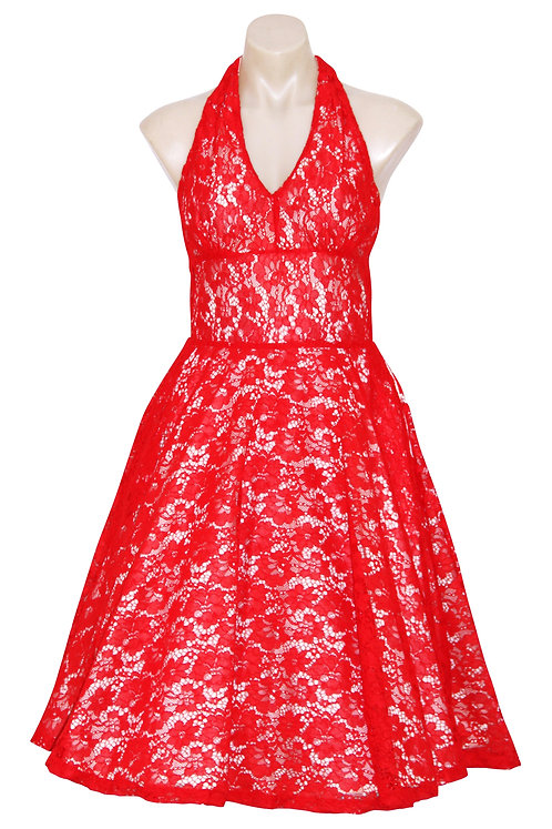 Marilyn Dress  Red 0168