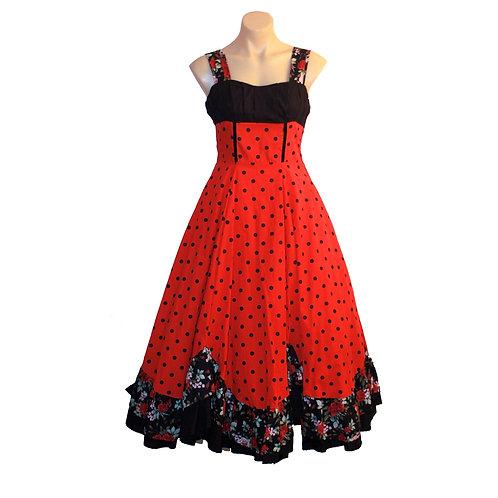 Rosita Dress red polka dot 0207