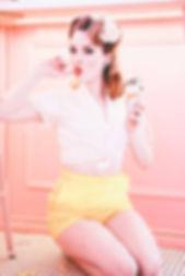 Sandy Shorts Yellow