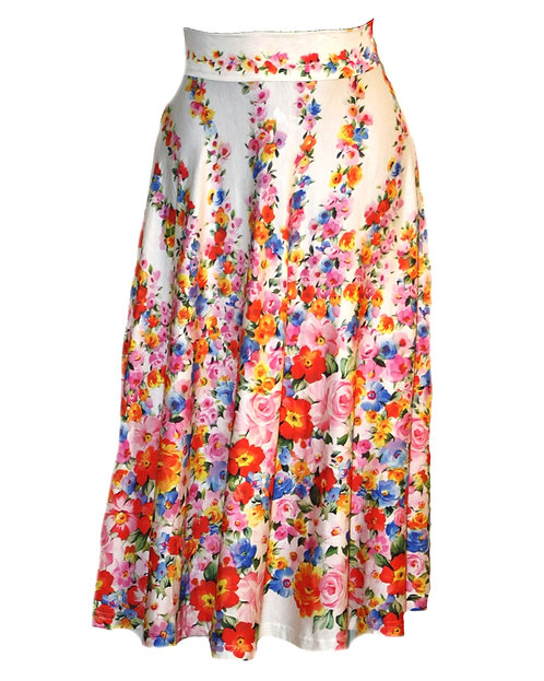 Amy Skirt Floral 0194